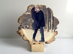 valentines day valentines gift for him by FamilyPhotoWood on Etsy
