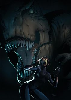 dino crisis 3 by zecarlos on DeviantArt Jurassic World, Jurassic Park, Dinosaur Hunter, Dino Crisis, Game Of The Day, I Love Games, Female Characters, Fictional Characters, Strong Girls