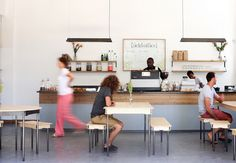 """In South Africa, <a href=""""//pedersenlennard.co.za/shop/"""""""">Pedersen Lennard</a> has crafted two cafes that showcase the design studio's modern furniture and love of coffee."""