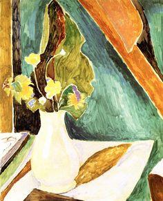 Vanessa Bell, Still Life, Wild Flowers, 1915
