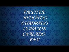 COMO TRAZAR DIFERENTES ESCOTES, LECCIÓN #1 - YouTube Pony, Neon Signs, Youtube, Sewing, Videos, Vestidos, Men's Shirts, Men's, Big Sizes