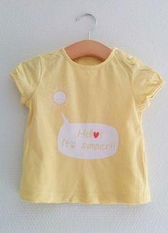 Tee-shirt à manches courtes Kiabi - 12 mois