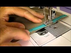 How to sew an invisible zipper. Clear tutorial on how to get a beautiful result sewing an invisible zipper even if its your first time. (This tutorial starts off using an actual invisible zipper foot.