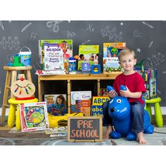 I just entered to win something fantastic from the best Preschool Curriculum Kit ever!