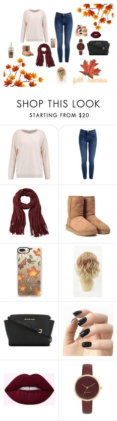 """""""fall"""" by bunnyrabbit8 ❤ liked on Polyvore featuring Duffy, Steve Madden, UGG, Casetify, MICHAEL Michael Kors, Incoco and Nine West"""
