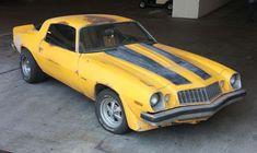 Bumble Bee- in original condition- 1977 Camaro