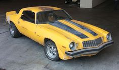 Bumble Bee- in original condition- 1977 Camaro