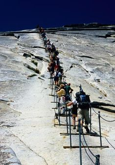 Hike Half Dome.  I've lived in California my whole life, time to take advantage!