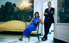 President Barack and First Lady Michelle Obama in Parade magazine.