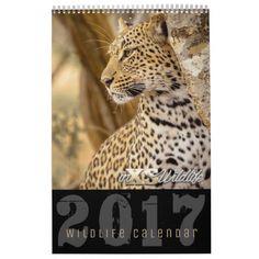 inXS Wildlife 2017 Calendar