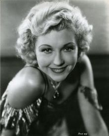 "Joyce Compton (27 Jan 1907 - 13 Oct 1997) - American actress born in Lexington, KY. She was named a WAMPAS Baby Star in 1926 and appeared in a long string of mostly B-movies from the 1920s-1950s. She was a comedy actress and protested at being stereotyped as a ""dumb blonde"". She appeared in over 200 films. She was a devout Christian; her headstone even states ""Christian Actress""."