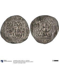 Kreuzfahrer: Akkon Münze 1251 Land: Israel (Land) Münzstätte/Ausgabeort: Ake-Akkon Nominal: Dirhem, Material: Silber, Druckverfahren: geprägt Gewicht: 2,77 g Durchmesser: 22 mm