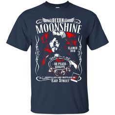 The Walking Dead Daryl Dixon T shirts Dixon Moonshine Hoodies Sweatshirts