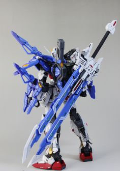 1/100 Two-Strike Gundam - Customized Build     Modeled by  zzzang65