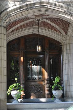 Door in Richmond, VA, via The Enchanted Home