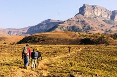 Drakensberg Range (South Africa). 'Known as the Battlement of Spears in the Zulu language, the Drakensberg Range is one of Africa's greatest hiking destinations. And April, thanks to moderate temperatures and dry skies, is a fantastic month to experience it.'