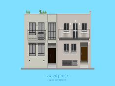 Tel Aviv Buildings by Avner Gicelter - 3D Architectural Visualization & Rendering Blog