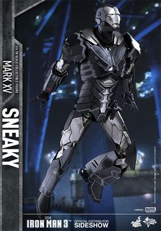 Marvel Iron Man Mark XV - Sneaky Sixth Scale Figure by Hot Toys