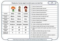 Ejercicios para comprender instrucciones escritas para descargar e imprimir gratis, para utilizar con chicos de 9 a 14 años, de 4º de Primaria a 2º ESO