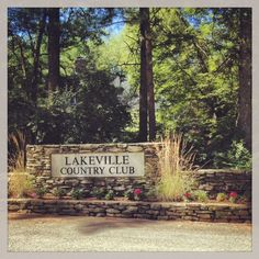 Entrance to #Lakeville Country Club #Boston #SouthCoast #NewEngland #golf