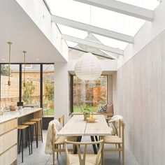 Victoria Park Road Featured in Grand Designs House Extension Design, Glass Extension, Extension Designs, House Design, Side Extension, Extension Ideas, Steel Frame Doors, Tyni House, Victoria House