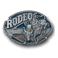 Rodeo Bull Rider Belt Buckle $12.99