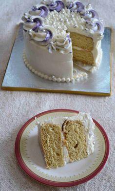 Vegan Vanilla Sponge Cake with Aquafaba - Recipe and step wise photos to make this delicious, soft vegan vanilla cake with aquafaba.