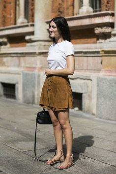 MMFW women street style