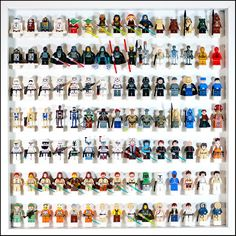 Les jouets LEGO peuvent coûter chers : ne les laissez pas dépérir au fond d'une boîte ; exposez-les !