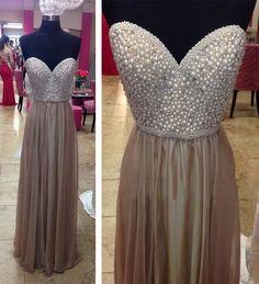 Long prom dress, sweet heart prom dress, beading prom dress, elegant prom dress, popular prom dress, modest prom dress, formal prom dress, evening dress
