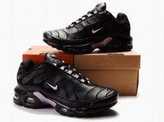 chaussures femmes Nike Air Max TN Mode Noir Rose