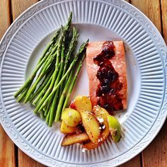 Flavor up your Salmon Dinner with Cranberry and Cinnamon, a must try! 2 salmond recipes.
