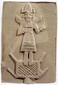 Hettite, moulds for metal, Kültepe Kaniş (Tahsin Özgüç) (Erdinç Bakla archive)