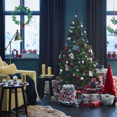vinter 2018 geurloze stompkaars ikea ikeanl ikeanederland inspiratie wooninspiratie interieur wooninterieur cadeau cadeaupapier kerstman kerst