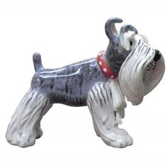 WL SS-WL-20253 Lili The Schnauzer Figurine Dog Collectible Statue, 4.25' >> Wow! I love this. Check it out now! : Christmas Decorations