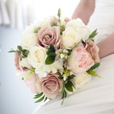A Blush Pink Handtied
