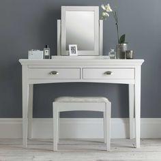 The Carrington White Dressing Table | White Bedroom Furniture