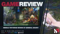 HP Game Reveiw | Minimax Tinyverse by General Gravey #MINImaxTinyverse Battle Chess, Hp News, Robot Hand, Stop Fighting, Old Antiques, News Games, Deities, Mini