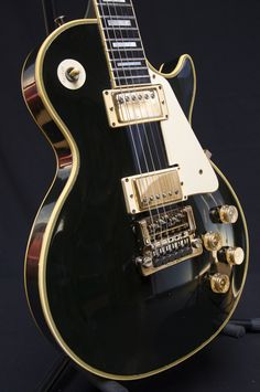 '80s Les Paul Custom with Factory Kahler . . . I had a chance to buy a really worn out one in at Rainbow Guitars in Tucson . . . still regret that decision . . .
