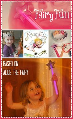 Little fairies will love these sensory play and craft activities based on the delightful book Alice the Fairy by David Shannon