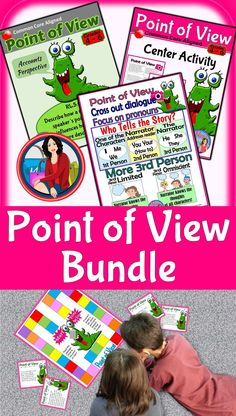 Point of view activity first second and third person recording from introduction to assessment this bundle has it all an introductory powerpoint a center sciox Choice Image
