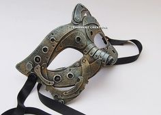 Steampunk Mechanic Mask by diarmentcreations on Etsy Steampunk Mechanic, Steampunk Goggles, Steampunk Costume, Steampunk Diy, Steampunk Fashion, Plastic Mask, Victorian Goth, Steampunk Accessories, Cosplay Tutorial