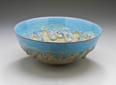 Bowl Gertrud Natzler (1908-1971) Otto Natzler (1908-2007) United States, 1943  Earthenware Height: 3 1/2 in. (8.75 cm); Diameter: 8 1/2 in. (21.5 cm) | LACMA Collections