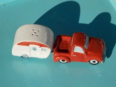 Trailer Salt and Pepper Shakers