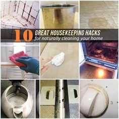 10 Great Housekeeping Hacks For Naturally Cleaning Your Home
