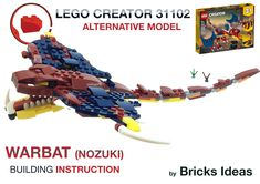 Lego Creator, The Creator, Godzilla Vs, Lego Models, Lego City, Diy Toys, Bricks, Legos, Building