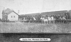 Historical photos photographs of Warman Saskatchewan Canada, Canadian History, Historical Photos, Vintage Photos, Postcards, Image, Historical Pictures, Greeting Card