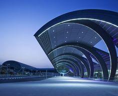 [Aeropuerto Internacional de Dubai (DXB), Terminal 3 / Paul Andreu Architecte (Francia)]