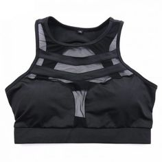 920e59102c73f Inkach Women Sport Bra Workout Yoga Tank Tops Stretch Seamless Racerback Fitness  Crop Tops Black L     Be sure to check out this awesome product.