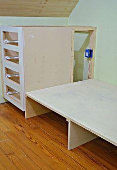 this kitchen cabinet idea will give you so much more bedroom ... - Costruito Nel Design Armadio